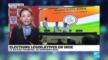 Triomphe de Narendra Modi aux législatives indiennes