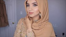 EID PEACHY MAKEUP  TUTORIAL AND OUTFIT