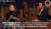 Millie Bobby Brown témoigne du harcèlement scolaire qu'elle a vécu !