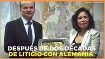 Internacional   Después de dos décadas Perú recupera máscara de oro