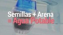 Tecnología y Ciencia   Agua potable con semillas y arena