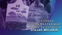 Patahkan Stigma Masyarakat, Pasien Skizofrenia Diajak Melukis
