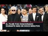 Pedro Almodóvar fue ovacionado en el Festival de Cannes