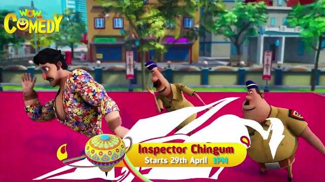 Lungi Dance Promo   Inspector Chingum on Hungama   Hindi Cartoon Show   Cartoons for Children