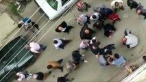 Binanın 3'üncü katından düşen çocuk ağır yaralandı - SAMSUN