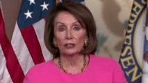 "Pelosi says Dems ""not on a path to impeachment"" despite Trump's ""stunt"""