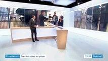 Européennes : premiers votes en prison