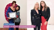 Caitlyn Jenner Steps Out on the Red Carpet with Sophia Hutchins
