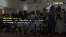 Ramadan 2019: le geste du cœur de la fondation Etisalat Bénin aux musulmans de Dassa-Zoumé