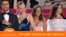 MEKTOUB MY LOVE INTERMEZZO - Red carpet - Cannes 2019 - EV