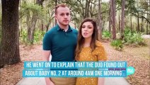 Josiah Duggar and Wife Lauren Reveal How They Found Out She Was Expecting Baby No. 2