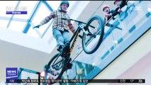 [투데이 영상] 쇼핑몰서 화려한 자전거 묘기