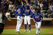 Mets' Rajai Davis Arrives to First Game Late, Hits Home Run