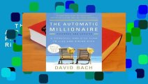 The Automatic Millionaire: A Powerful One-Step Plan to Live and Finish Rich  Review