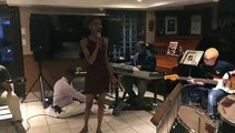 Latoya At Rehearsal
