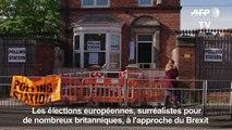 Elections européennes: les Britanniques se rendent aux urnes
