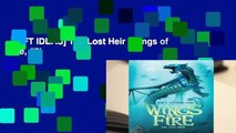 [GIFT IDEAS] The Lost Heir (Wings of Fire, #2)