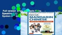 Full version  Basic Mandarin Chinese - Speaking & Listening: An Introduction to Spoken Mandarin