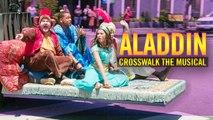 Crosswalk the Musical: Aladdin ft. Will Smith, Naomi Scott & Mena Massoud