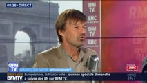 Nicolas Hulot refuse de dire pour quelle liste il votera aux européennes