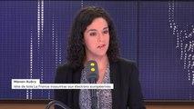 """""""Nous sommes la seule  force politique capable d'affronter les trois nuances de libéralisme"""" estime Manon Aubry"""