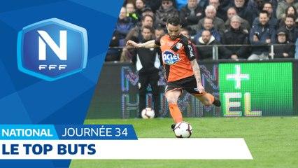 Le Top Buts (J34) I National FFF 2018-2019