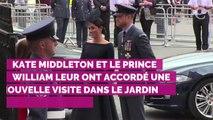 De véritables fans ! Le prince George et la princesse Charlotte sont retournés jouer dans le jardin imaginé par Kate Middleton