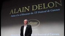 Alain Delon: après sa palme d'honneur à Cannes, il remercie son public