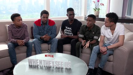The Cast of Netflix's When They See Us Discuss Channeling The Central Park 5
