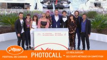REALISATEURS COURT-METRAGE - Photocall - Cannes 2019 - EV
