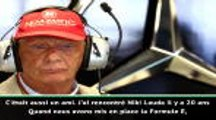 """F1 - L'hommage du patron de la Formule 1 à la """"légende"""" Lauda"""