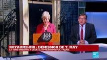 """Démission de T. May : """"Elle a refusé quasiment jusqu'au bout d'organiser un référendum"""""""
