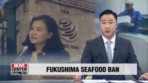 Korea's trade minister urges Japan to accept WTO's decision on Fukushima seafood ban