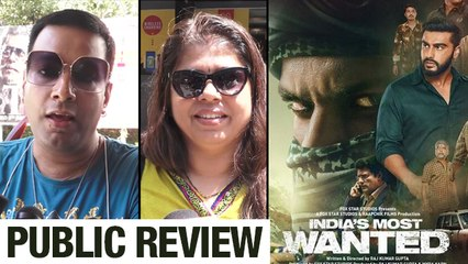 Public Review Of India's Most Wanted | Arjun Kapoor