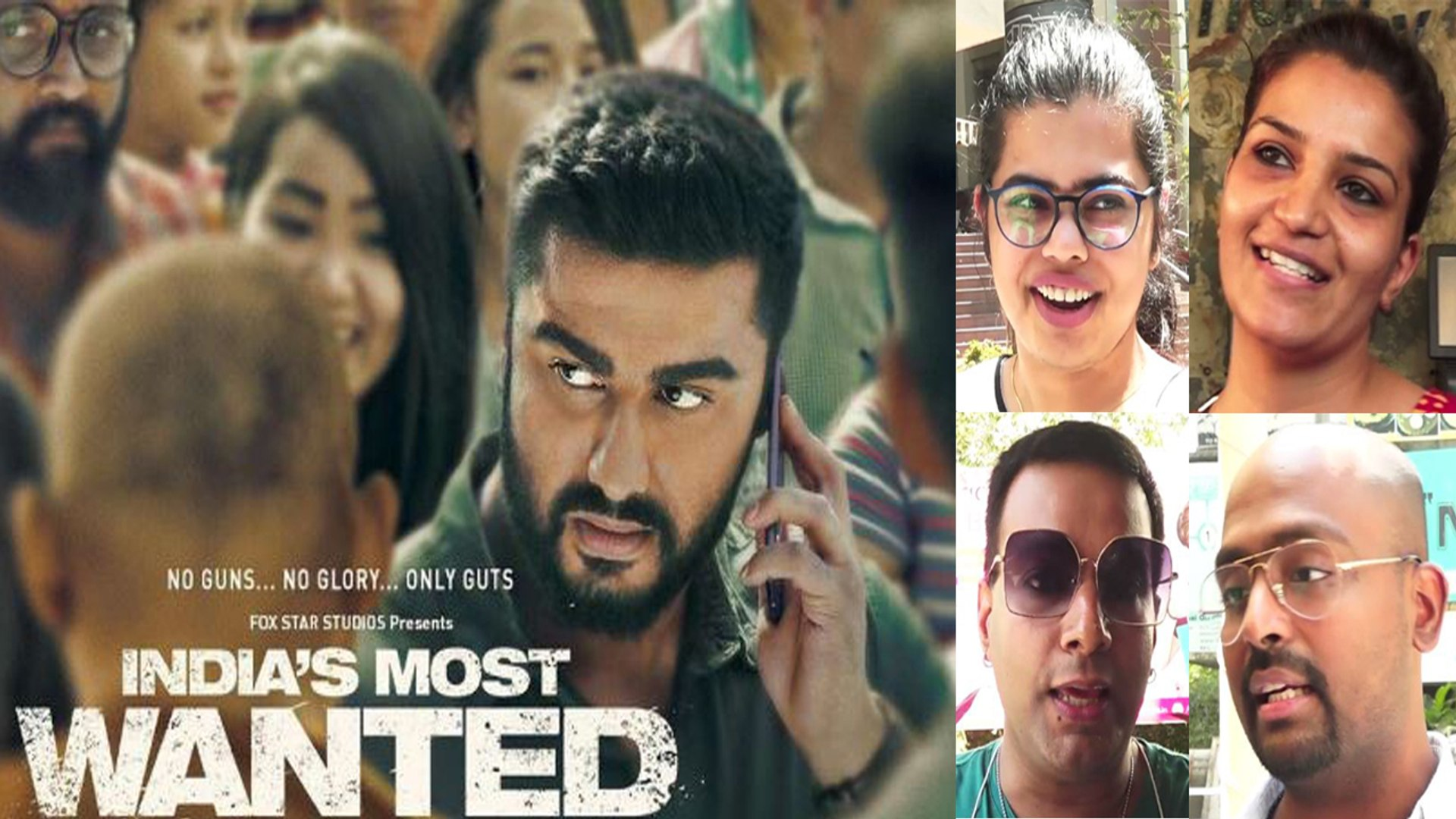 India's Most Wanted Public Review: Arjun Kapoor | Raj Kumar Gupta | FilmiBeat