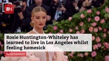 Rosie Huntington-Whiteley Is Coping With Her LA Life