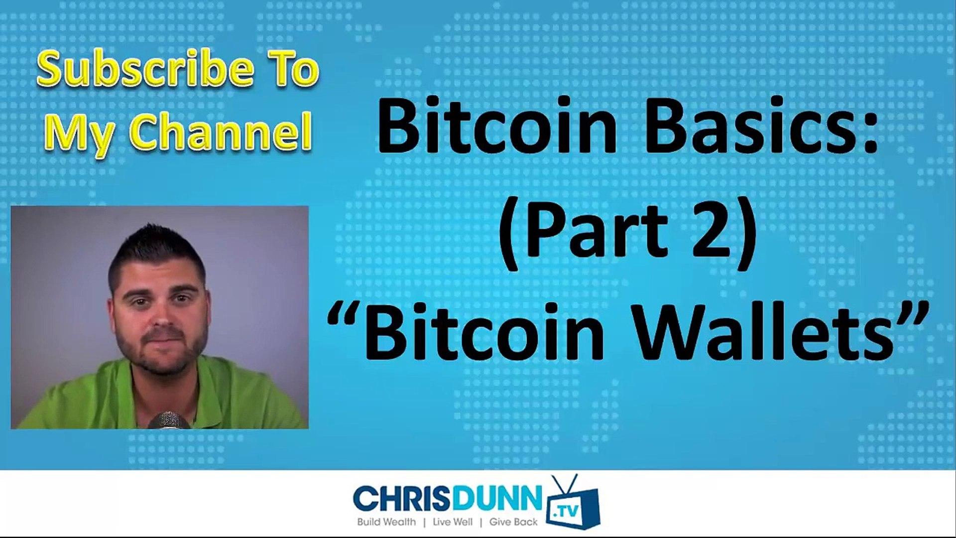 Bitcoin Basics (Part 2) - _Bitcoin Wallets_