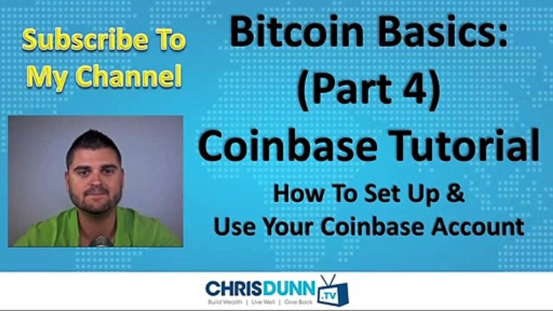 Bitcoin Basics (Part 4) - _Coinbase Tutorial_