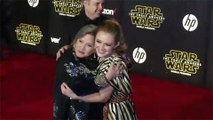 Billie Lourd struggled to shoot emotional Star Wars scenes with her late mum