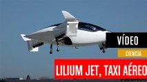 Lilium Jet, un taxi aéreo con 36 motores giratorios