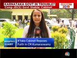 Karnataka cabinet reposes faith in CM Kumaraswamy