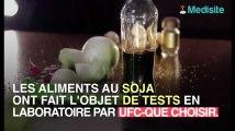 Les produits au soja, pourvus de perturbateurs endocriniens