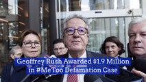 Geoffrey Rush Wins A MeToo Defamation Case