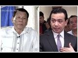 Trillanes laments Duterte's mention of parents in alleged gov't deals