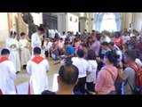 Manila Cathedral commemorates Stations of the Cross on Good Friday