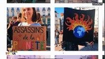 Louise Perret mène des actions localement  pour protéger l'environnement