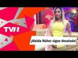 Vestido transparente de Aleida Núñez deja a la vista toda su tanga