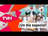 Adianez Hernández y Rodrigo Cachero festejaron el Día del Niño con sus hijos en Six Flags