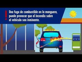 Cargar gasolina correctamente.