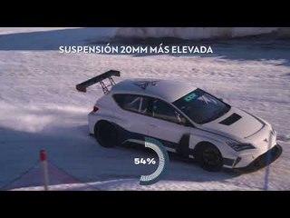 CUPRA e-Racer a prueba sobre nieve